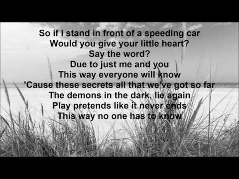 Walking on Cars -  Speeding Cars Lyrics