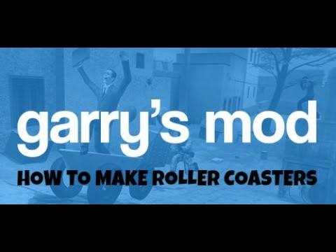 HOW TO MAKE A ROLLER COASTER! (Garry's mod)