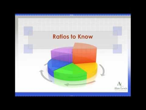 Ratios to Know - Current Ratio