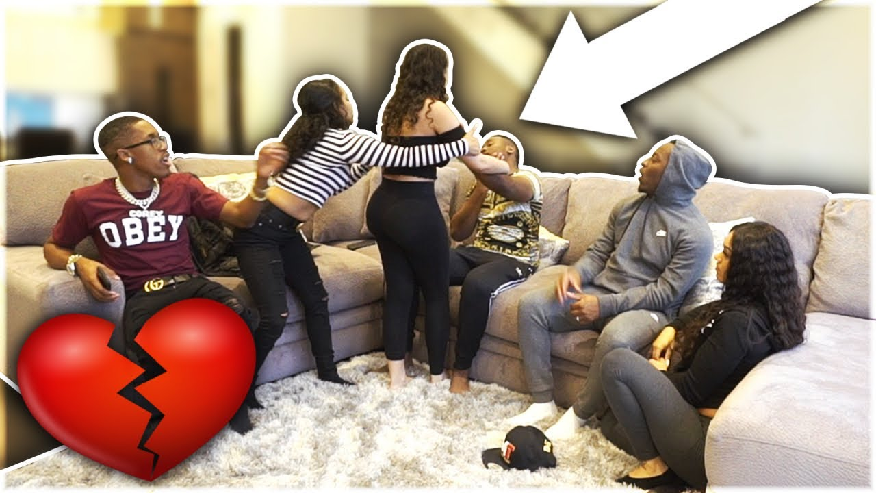"""BREAKING UP WITH GIRLFRIEND PRANK IN FRONT OF """"THE PRINCE FAMILY & CARMEN & COREY"""""""