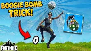 NEW BOOGIE BOMB TRICK! (NO FALL DMG) - Fortnite Funny Fails and WTF Moments! #199 (Daily Moments)