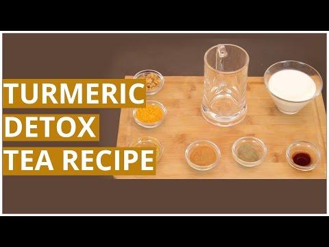 How To Prepare TURMERIC DETOX TEA Recipe?