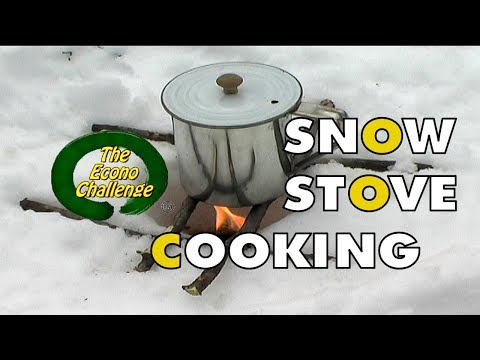 Snow Stove Coffee in the Woods - DIY Coffee Bag