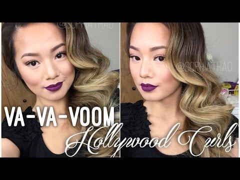 Va-va-VOOM Hollywood Curls ft. Amika