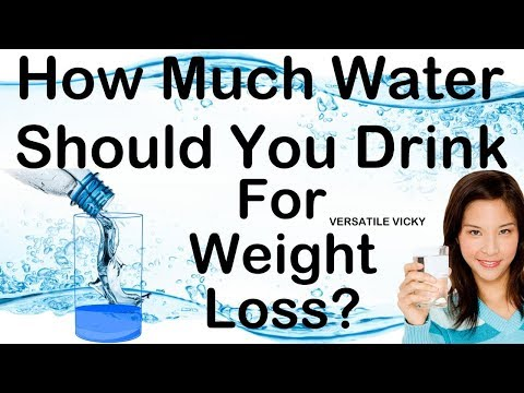 How Much Water Should I Drink In A Day To Lose Weight