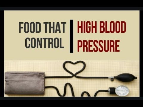 Food that control High Blood Pressure | Food for Hypertension |Food good for High Blood Pressure