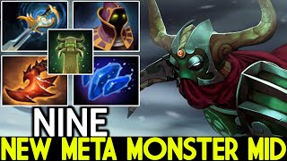 NINE [Undying] New Meta Monster Mid with Echo Sabre Dota 2
