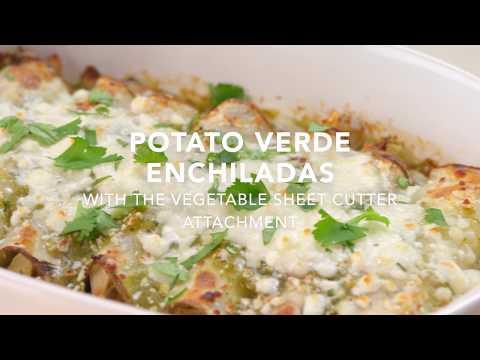 Potato Verde Enchiladas | KitchenAid