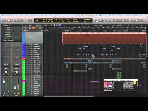 Bouncing backing tracks out of Logic Pro X (Ellie Goulding - Burn)