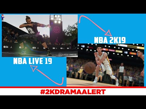 NBA LIVE 19 DEVELOPER SNEAK DISSES NBA 2K19, NBA LIVE 19 STIFF ANIMATIONS GONE?!?! #2KDramaAlert