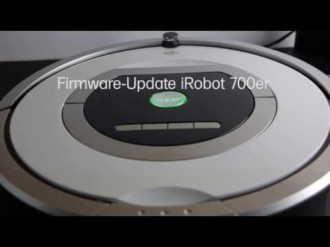 iRobot Roomba 700 / 800 Firmware Update mit OSMO