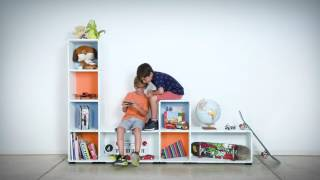 Modular Shelving System By Tosimple Furniture