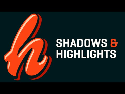 3D Lettering Shadows & Highlights Tutorial | Adobe Illustrator