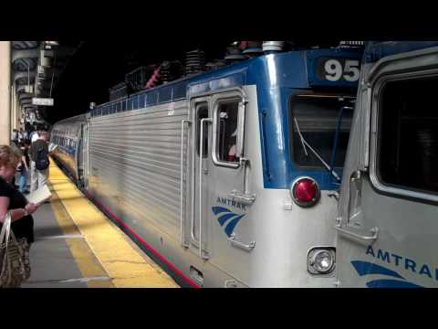 Double Header Train Day Newark Penn Station July 30 Part 1