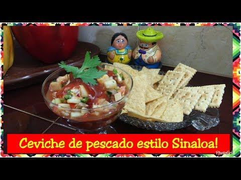 Ceviche de pescado estilo Sinaloa!!