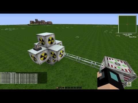 Minecraft Tekkit Lite (Industrialcraft2) Nuclear Reactor | Deutsch | HD | 100% explosions sicher