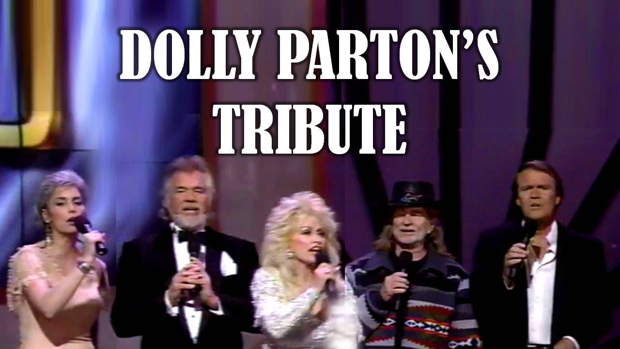 DOLLY PARTON´S TRIBUTE - Featuring KENNY ROGERS, WILLIE NELSON, GLEN CAMPBELL & EMMYLOU HARRIS