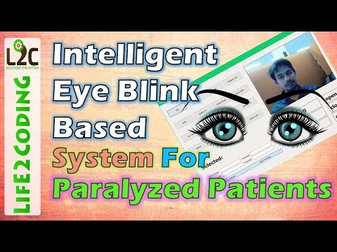 OpenCV Based Eye Blink Task Management System for Paralyzed Patients