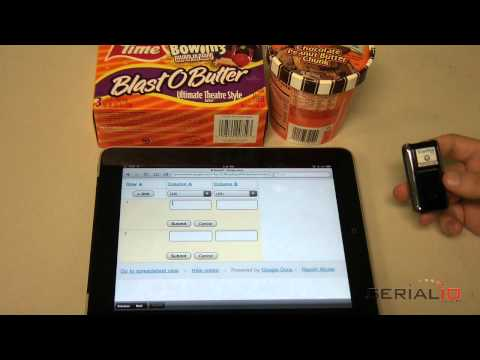 Show On Screen Keyboard When Scanfob® Barcode Scanner Connected to iPad