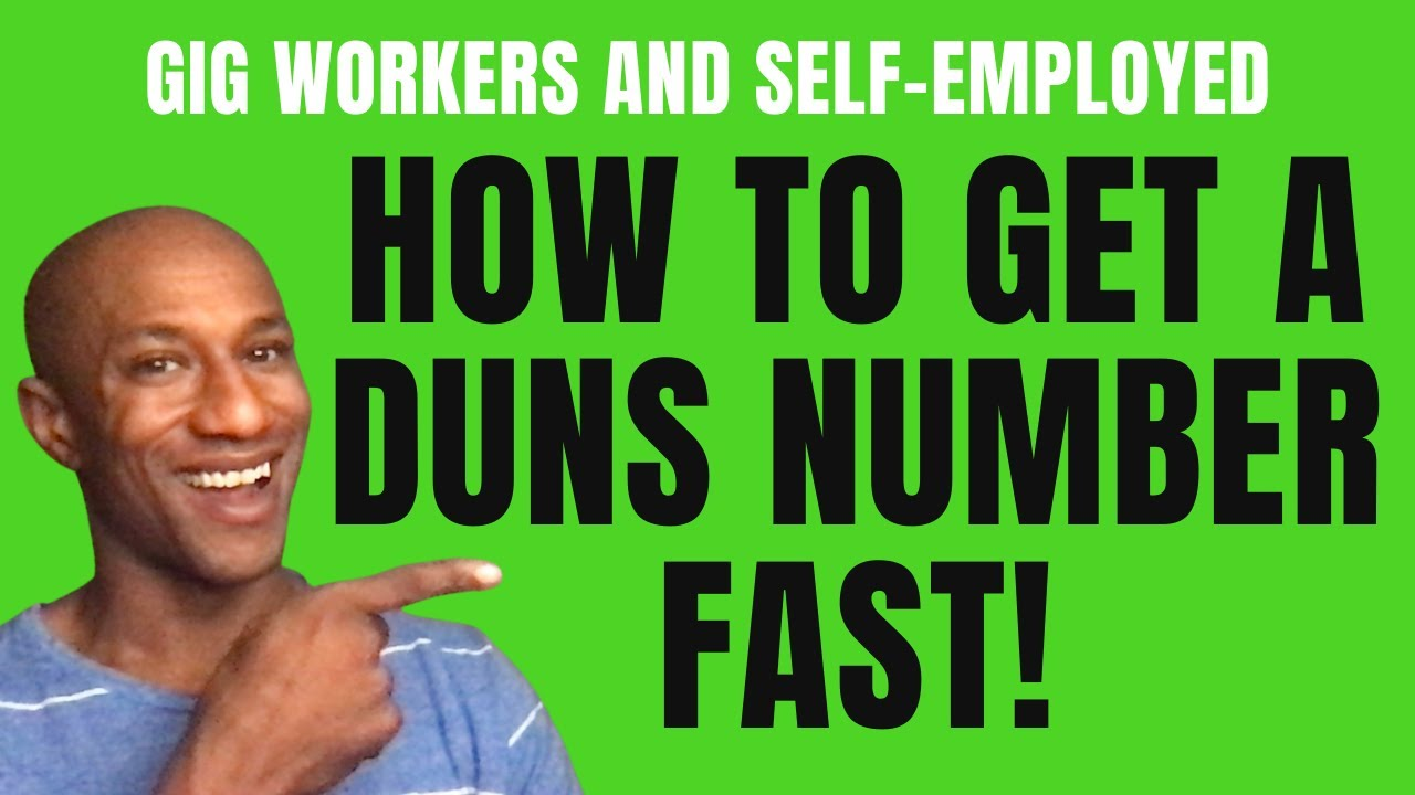 What is a DUNS Number? And How to Get a DUNS Number Fast! / How to Get Duns Number Self-Employed