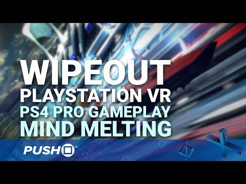 WipEout Omega Collection PSVR PS4 Pro Gameplay: Mind Melting | PlayStation VR