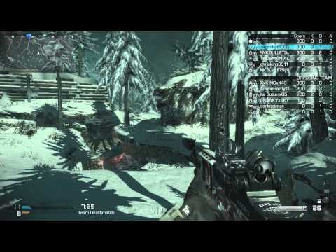 Call of Duty Ghosts - TDM - Whiteout (12/29/2013) - (75-33) -