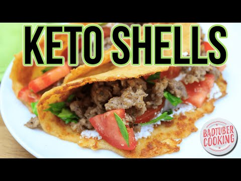 Keto Taco Shell Recipe - Perfect for Keto and Low Carb Diet