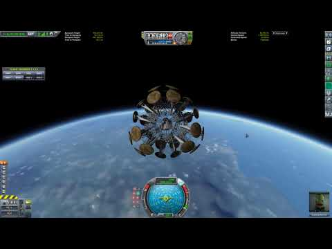 Surviving Reentry from orbit and landing safe (no Parachutes and no thrust) - Kerbal Space Program