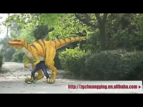 lifelike dinosaur costume for sale