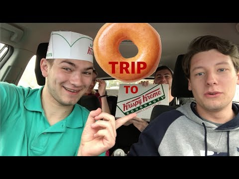 Trip to Krispy Kreme!