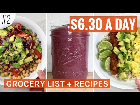 PLANT BASED ON A BUDGET, Cheap Easy Meals | No. 2