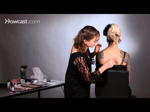 How to Cover a Tattoo Using Foundation | Special FX Makeup