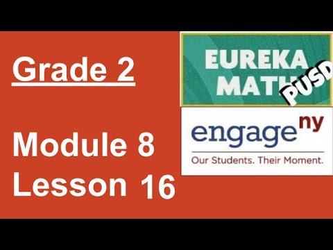 Eureka Math Grade 2 Module 8 Lesson 16