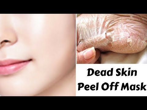 DIY Dead Skin Peel Off Mask | Get Fair, Glowing & Radiant Skin | Removes Blackheads & Facial Hair