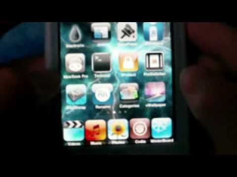how to get a moving wallpaper on your ipod touch and iphone