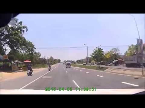 Road from Chiang Mai to Ayutthaya, Thailand