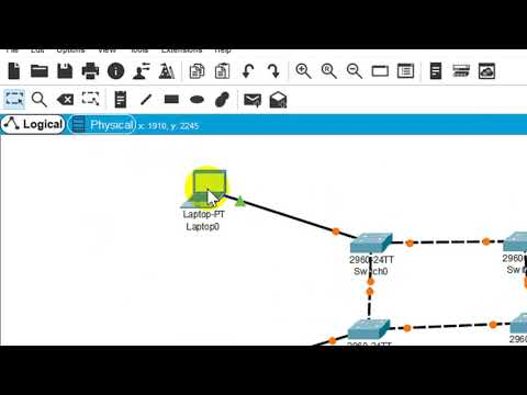Ring Topology Using Cisco Packet Tracer