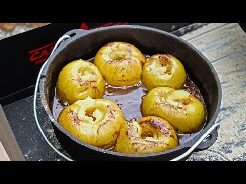 Camp Chef Baked Apples