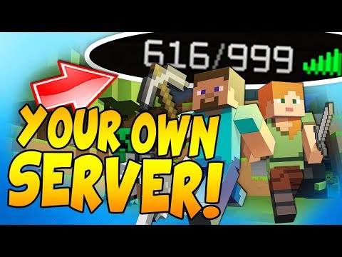 HOW TO OWN YOUR OWN MINECRAFT SERVER