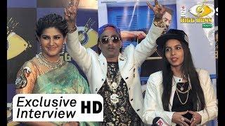 Bigg Boss Finale 11 - Exclusive Interview Sapna Choudhary, Akash Dadlani And Dhinchak Pooja
