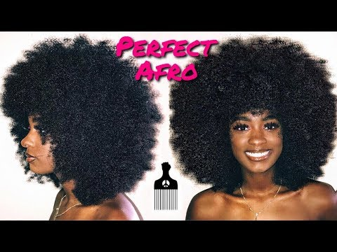 The PERFECT Afro | alexuscrown