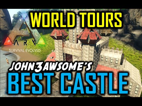 Ark Survival Evolved - Amazing Fresonis Inspired Castle On Xbox (World Tours) Joh3awsome's Base