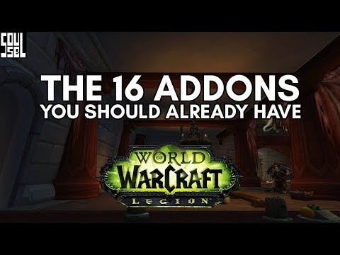 THE 16 All-Star Addons of World of Warcraft Legion!