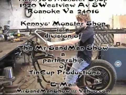 Kenny's Redneck Garage (The Hardtail chopper build)