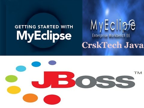 How to Integrate JBoss Application Server with Eclipse, MyEclipse IDE