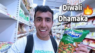 DIWALI SALE IN USA! Most Expensive Pani Puri, Maggie, Kurkure etc