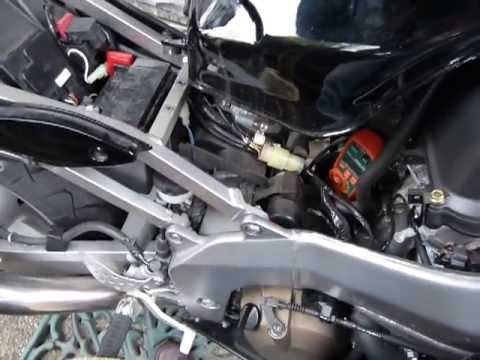 Measure Amps (non-contact, DC) on a motorbike