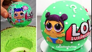 Download LOL Surprise Cake - How To Make by Cakes StepbyStep Video