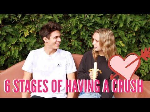 6 Stages of Having a Crush | Brent Rivera