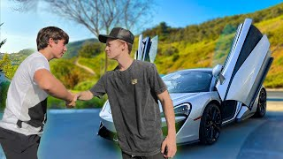 I Made a $50,000 Bet With RICHEST Kid In America